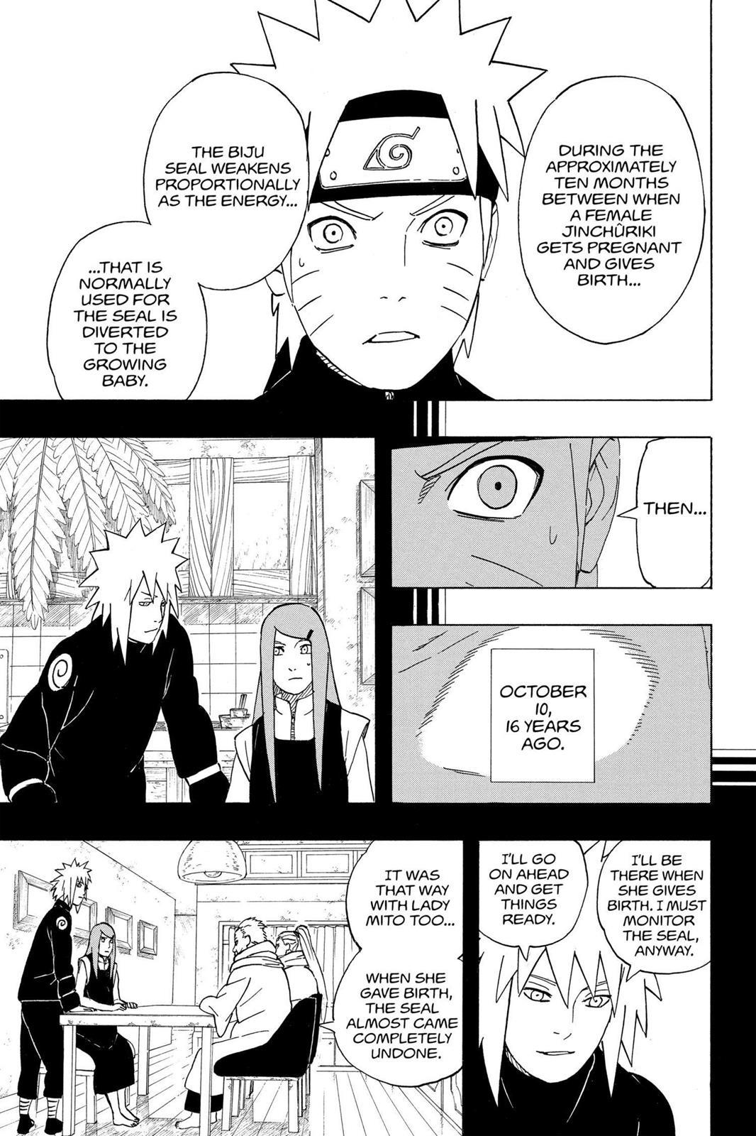 Naruto, Chapter 500 image 009