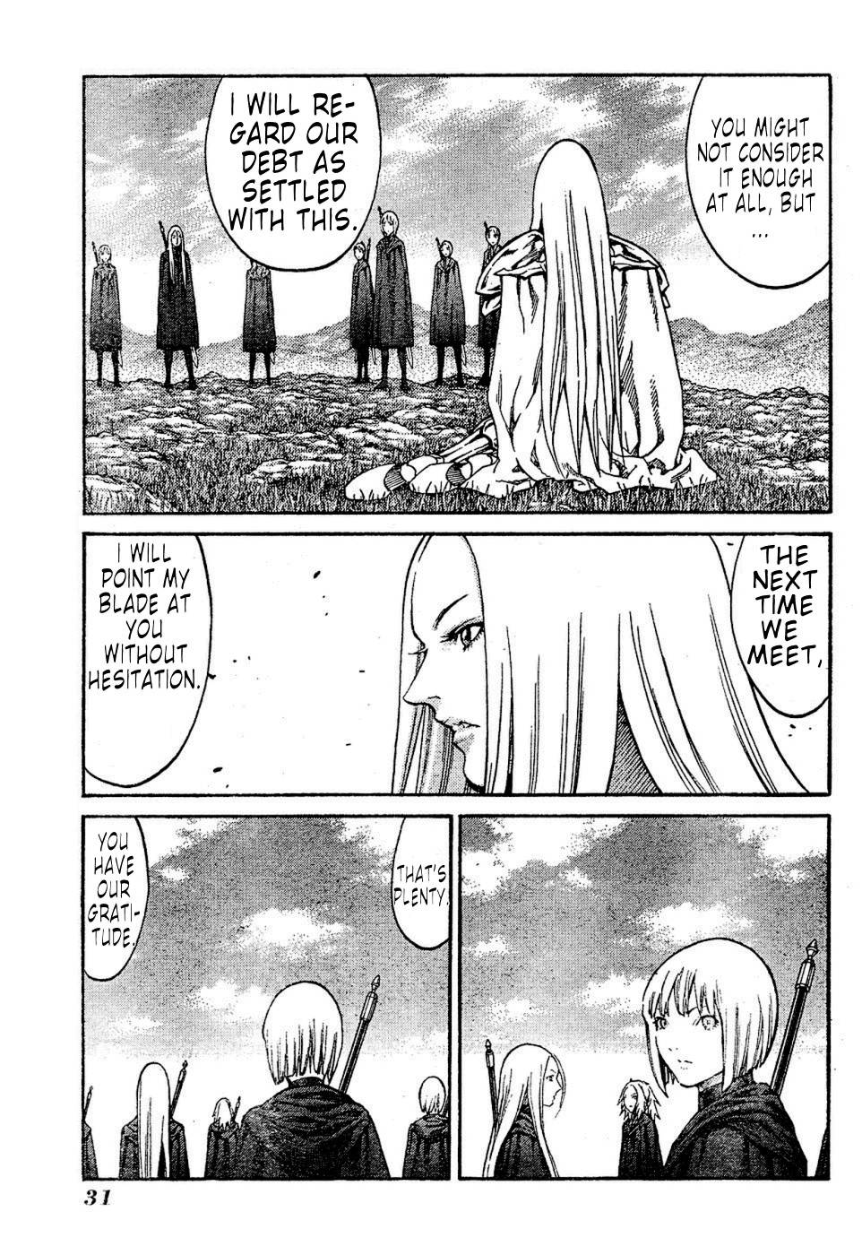 Claymore, Chapter 72 image 019