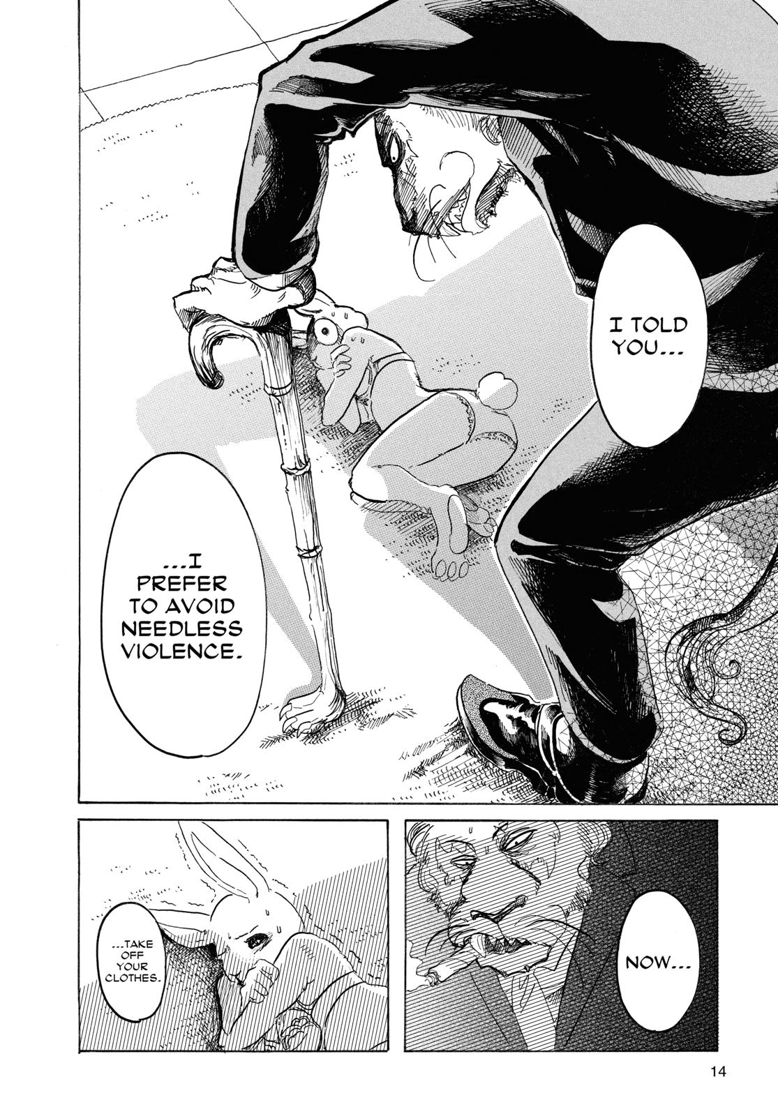Beastars Manga, Chapter 35 image 014
