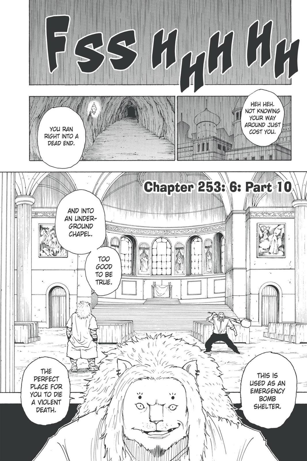 Hunter X Hunter, Chapter 253 image 001