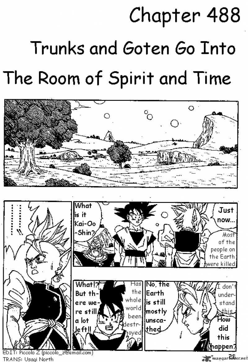 Dragon Ball, Chapter 489 image 001