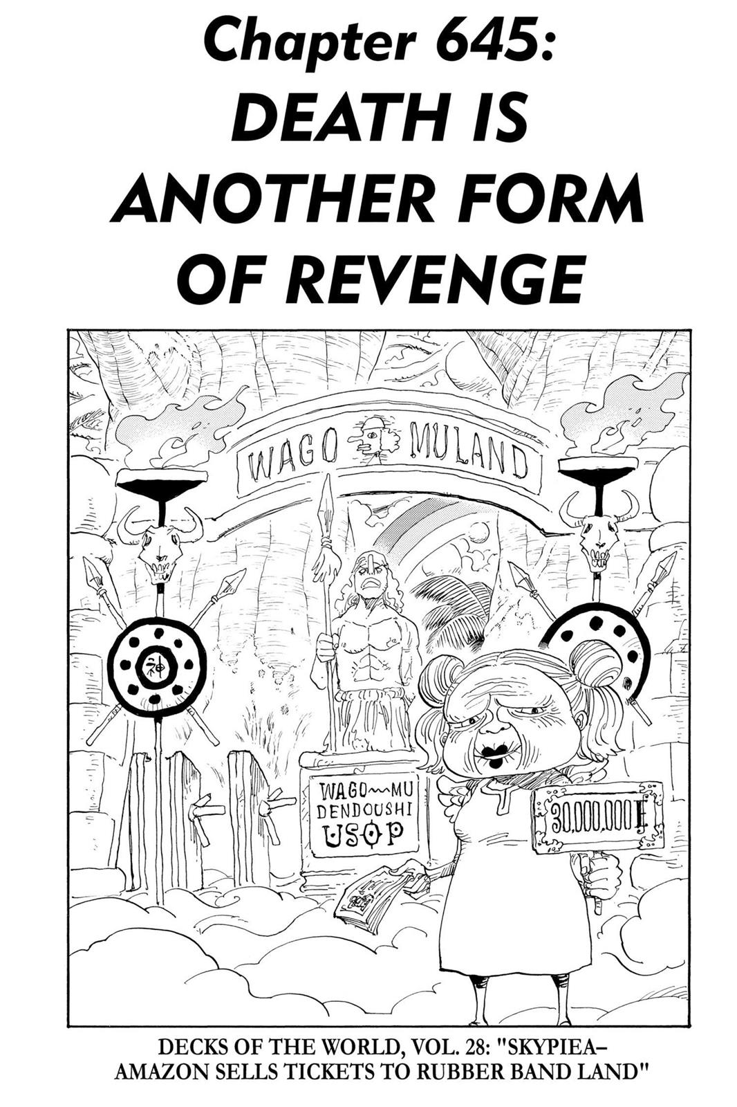 One Piece, Chapter 645 image 001