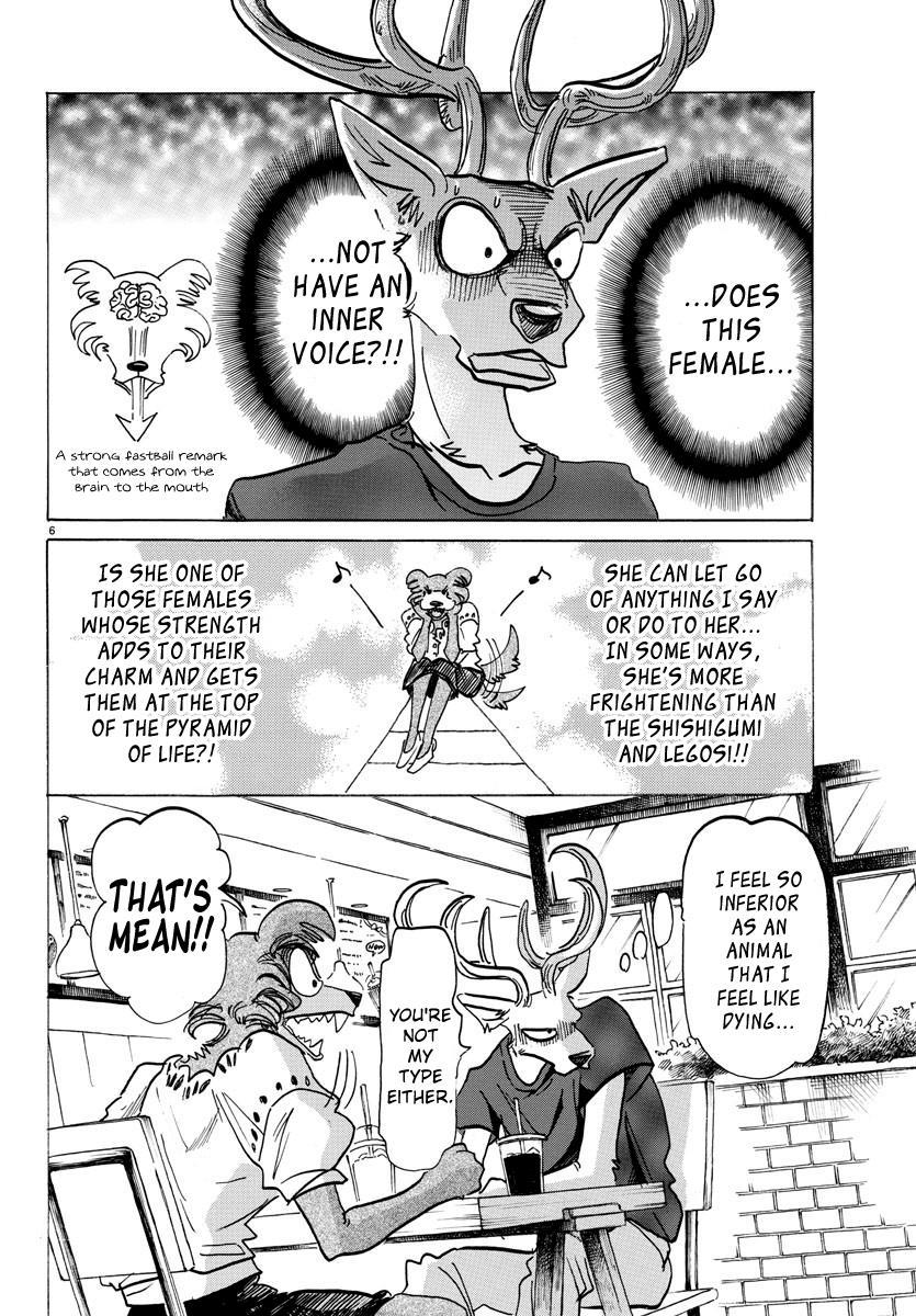 Beastars Manga, Chapter 136 image 007