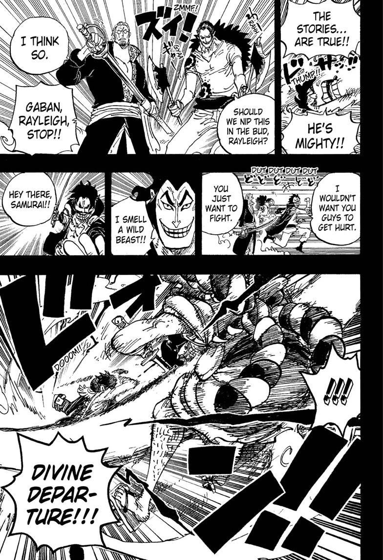 One Piece, Chapter 966 image 003