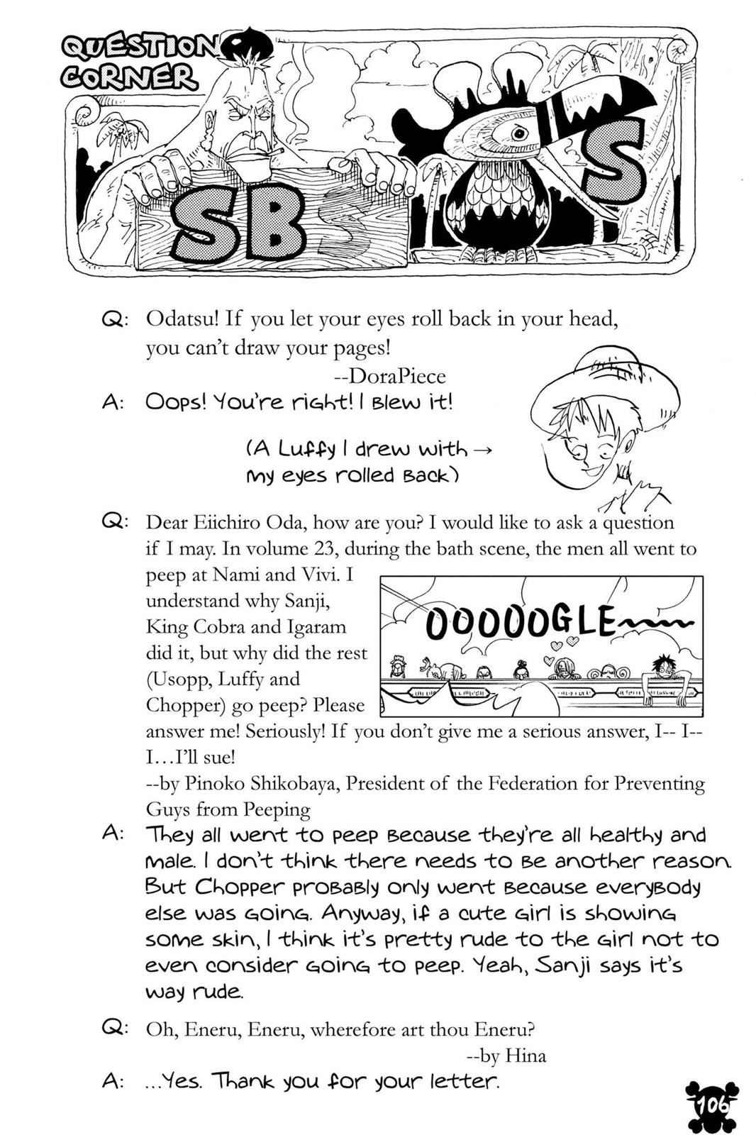 One Piece, Chapter 300 image 020