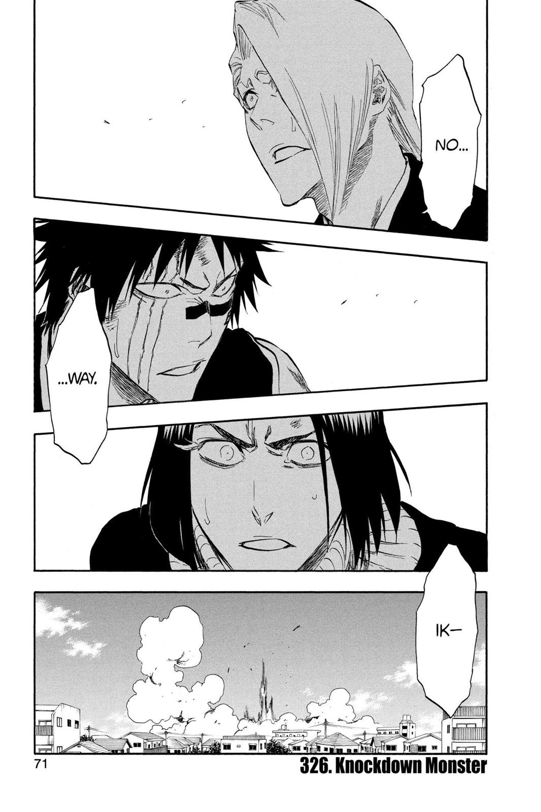 Bleach, Chapter 326 image 001