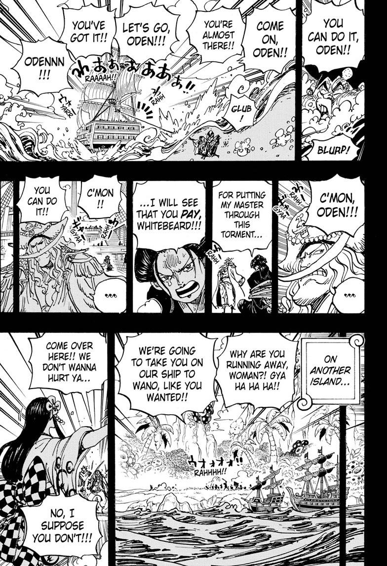 One Piece, Chapter 964 image 009