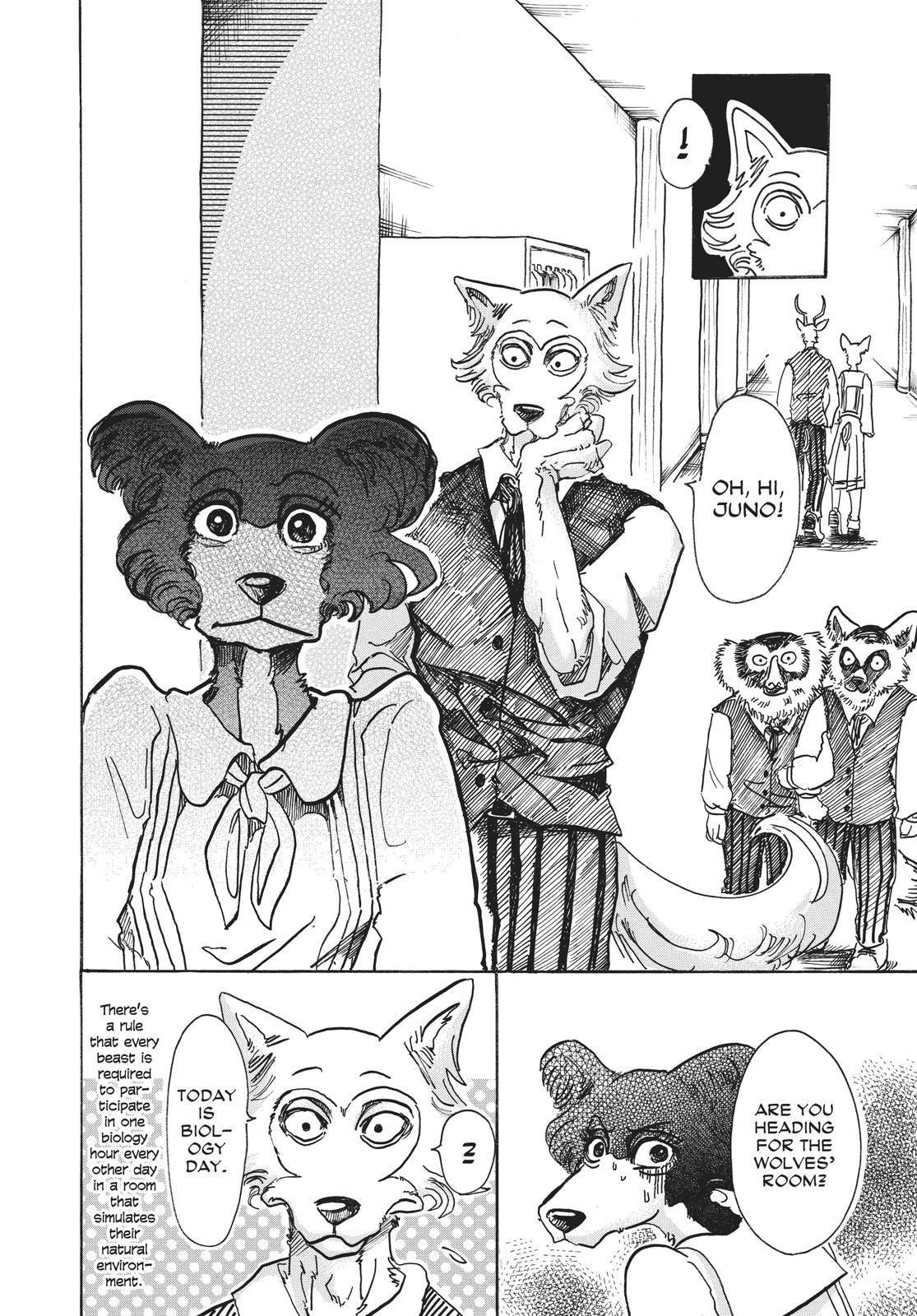 Beastars Manga, Chapter 52 image 004