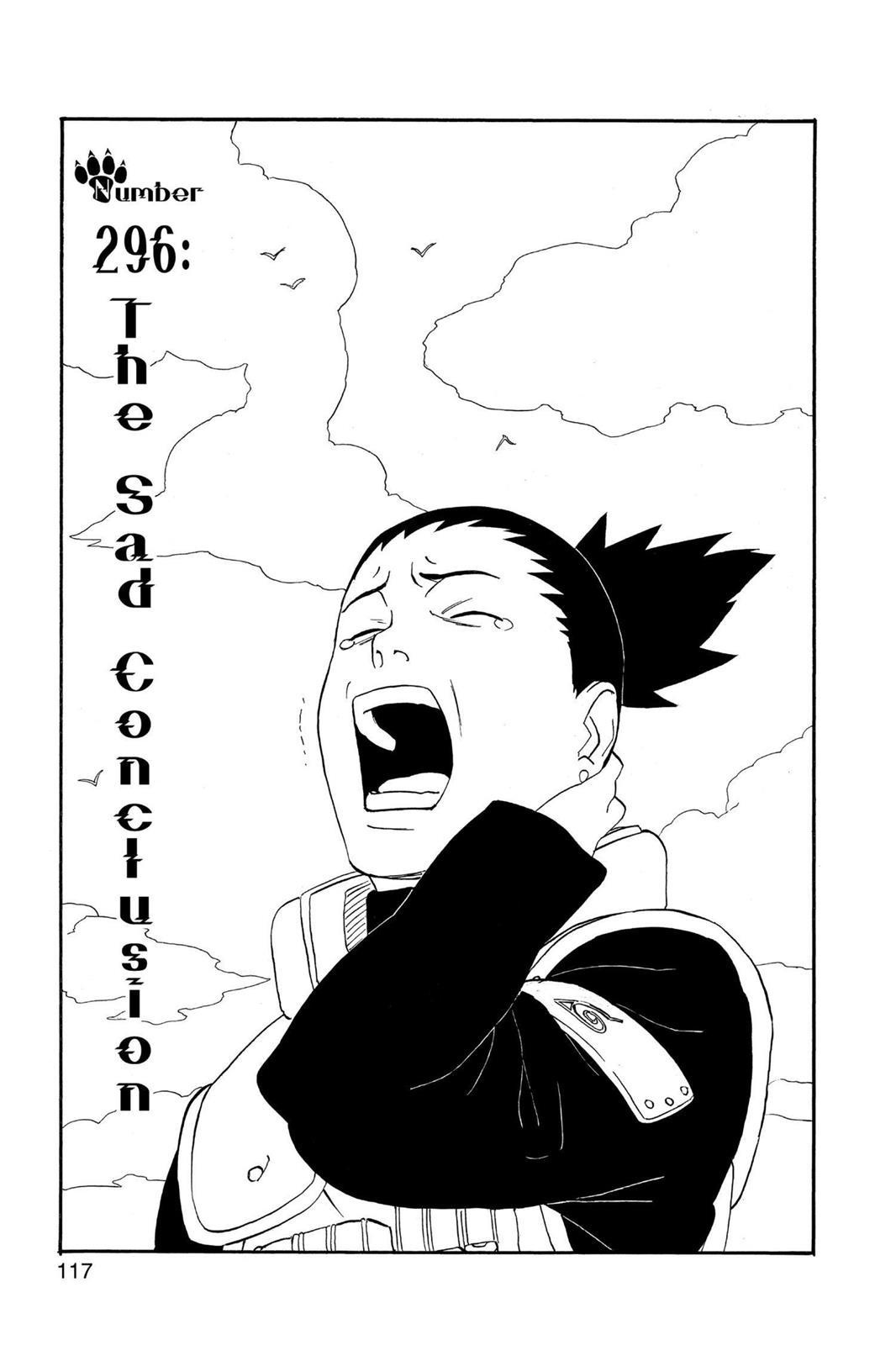 Naruto, Chapter 296 image 001