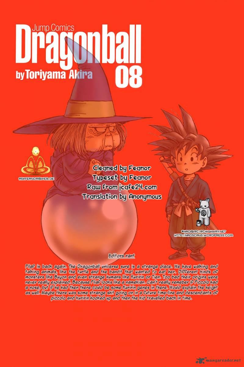 Dragon Ball, Chapter 107 image 001