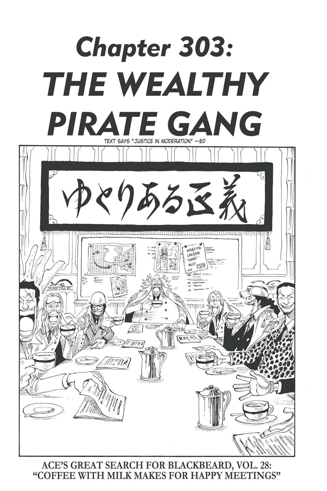 One Piece, Chapter 303 image 001