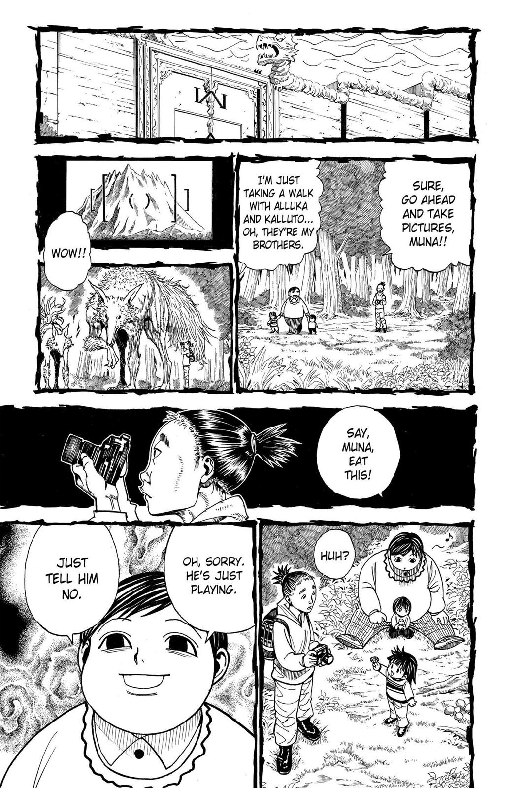 Hunter X Hunter, Chapter 323 image 003
