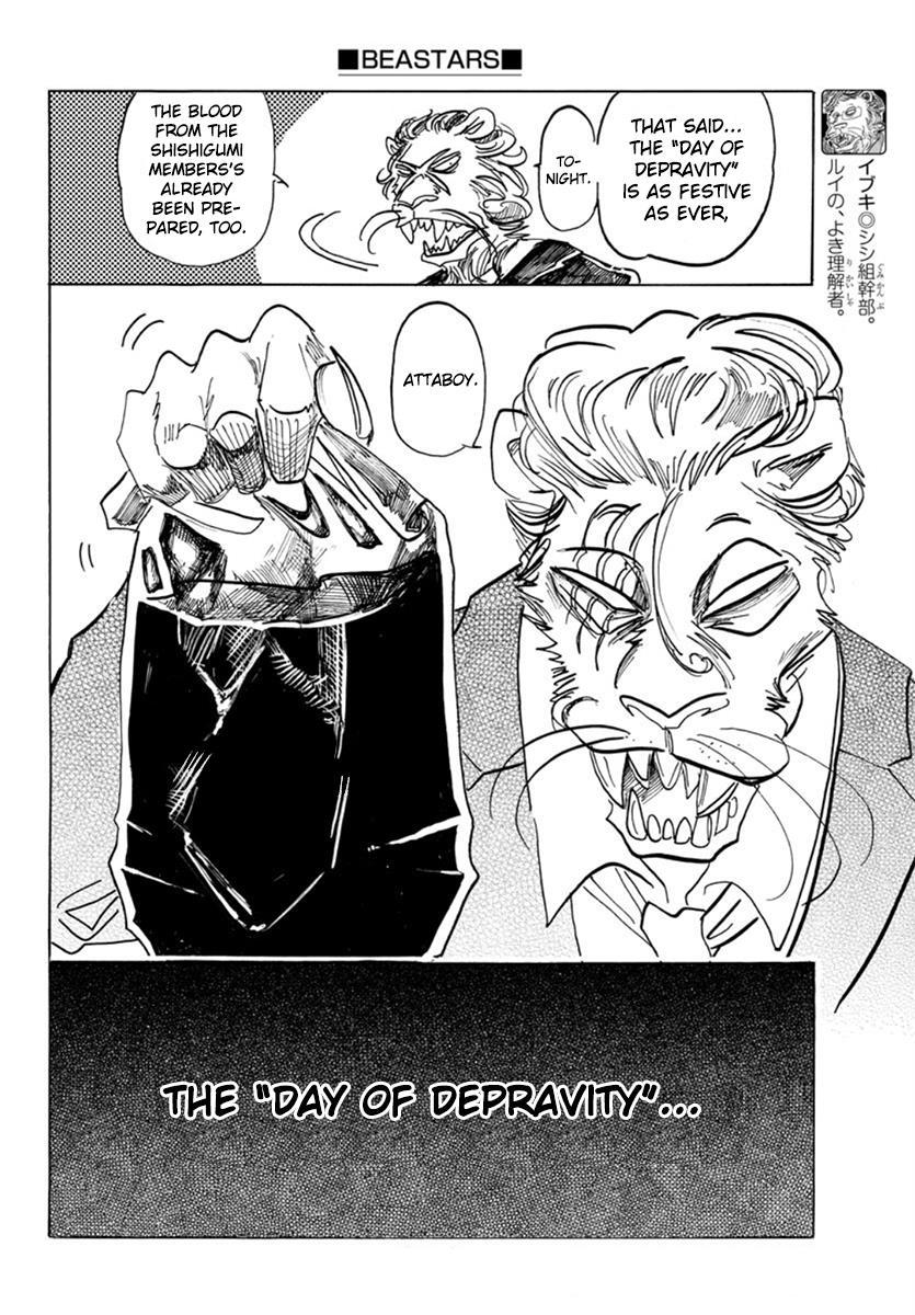 Beastars Manga, Chapter 156 image 005