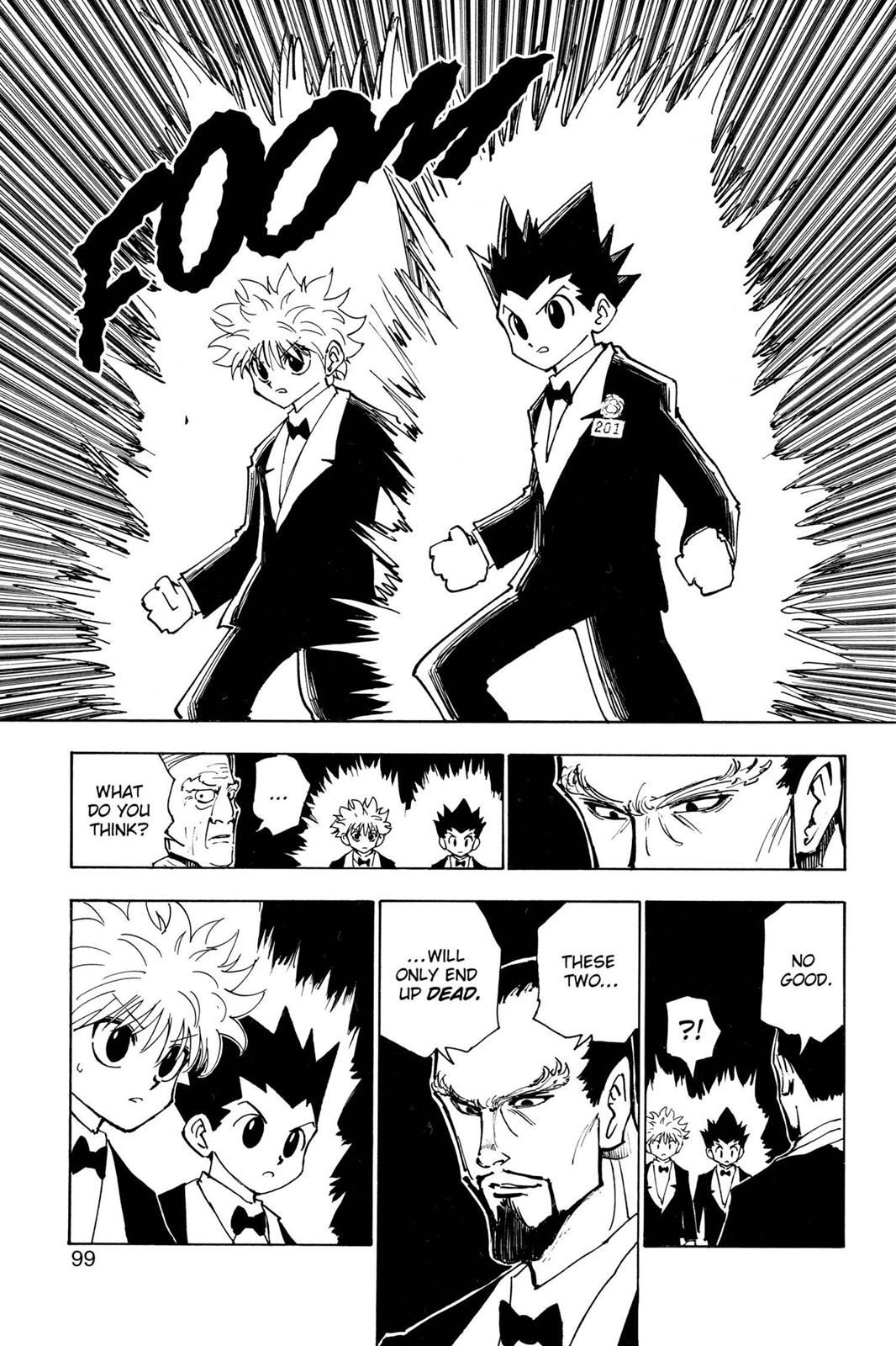 Hunter X Hunter, Chapter 121 image 015