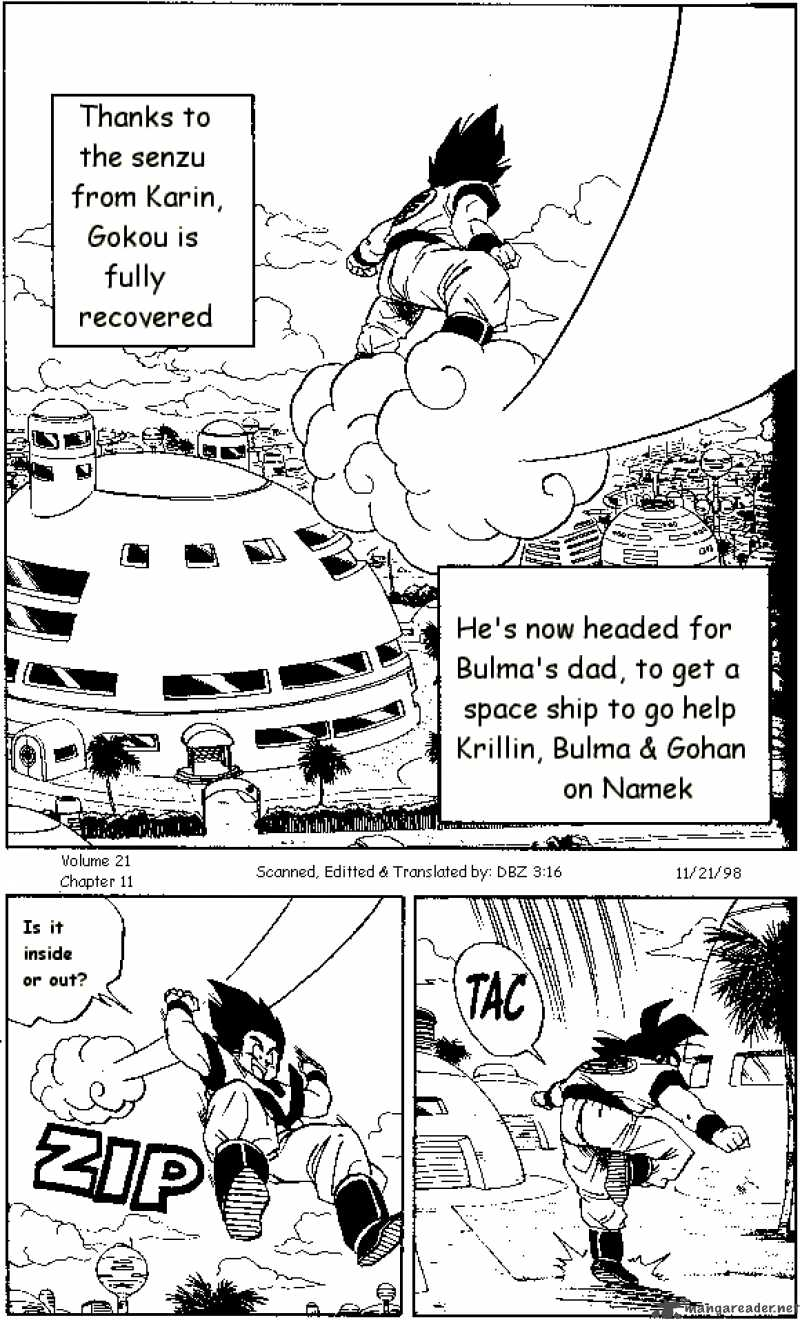 Dragon Ball, Chapter 251 image 001