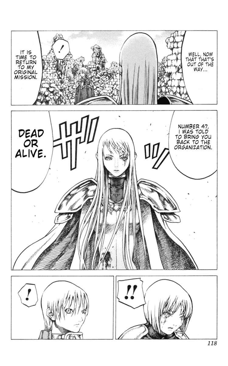 Claymore, Chapter 49 image 021
