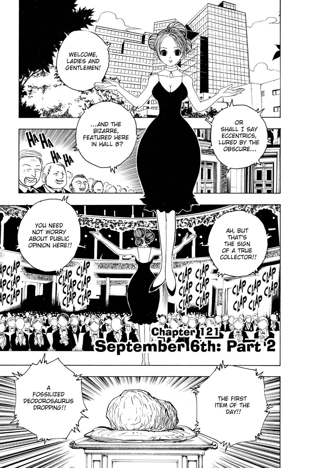 Hunter X Hunter, Chapter 121 image 001