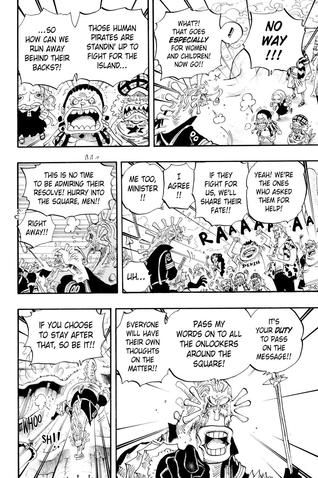 One Piece, Chapter 642 image 011