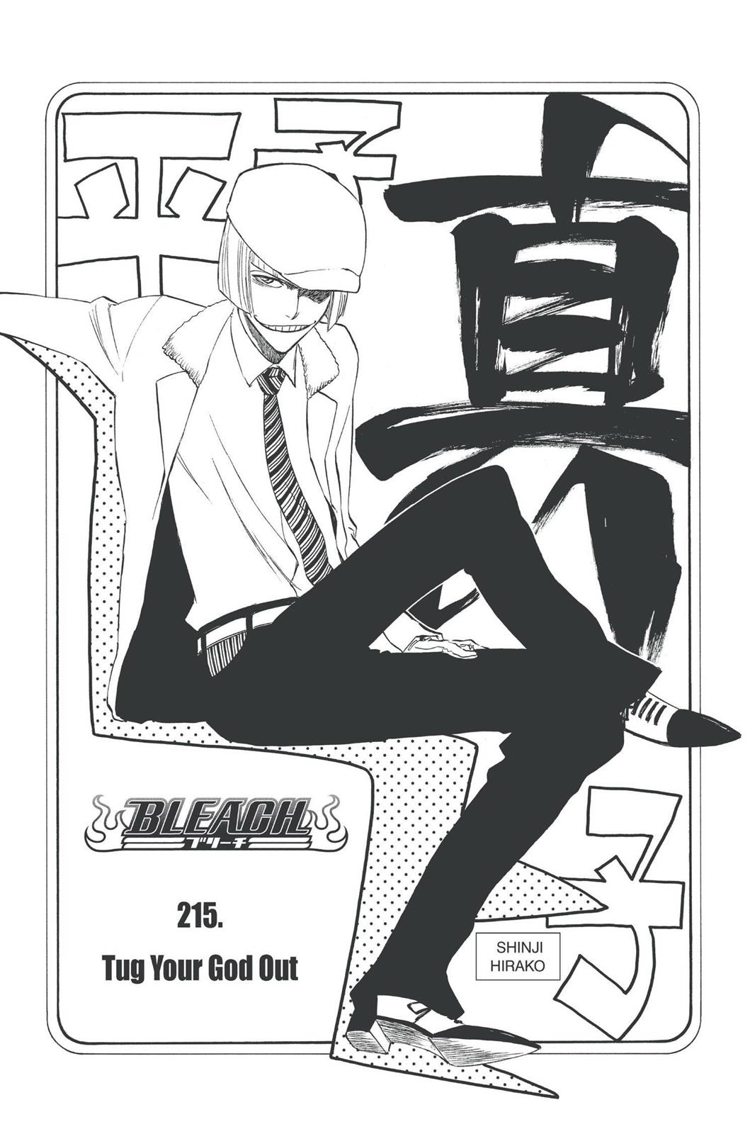 Bleach, Chapter 215 image 013