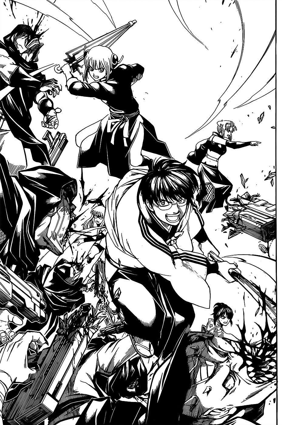 Gintama Chapter, 698 image 009