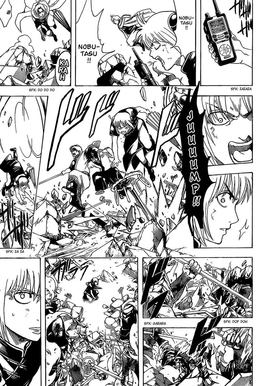 Gintama Chapter, 651 image 011