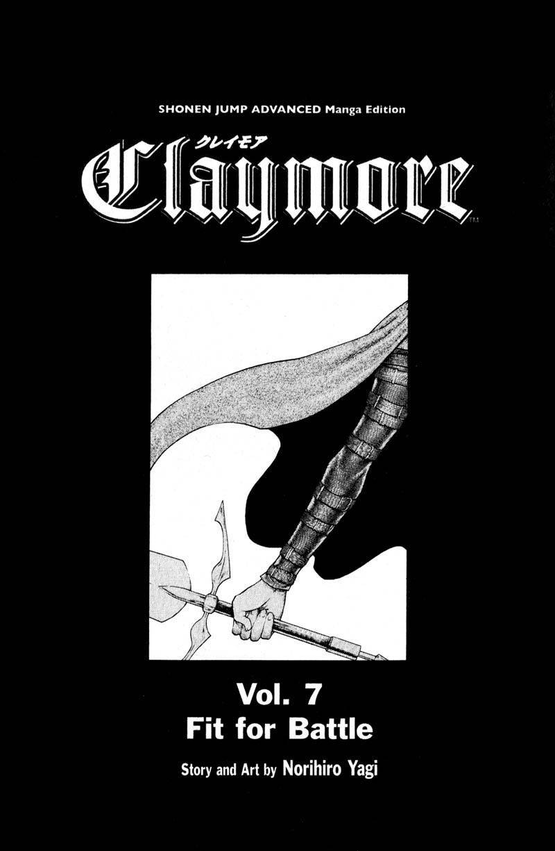 Claymore, Chapter 34 image 004