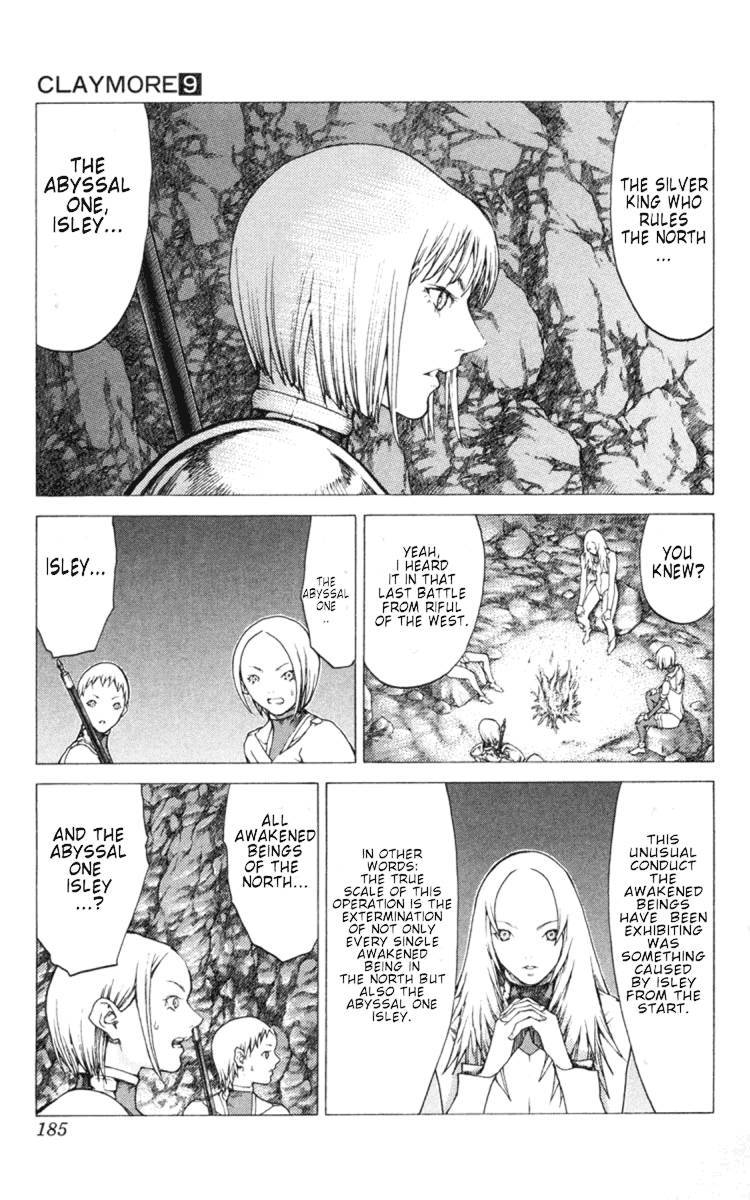 Claymore, Chapter 51 image 027