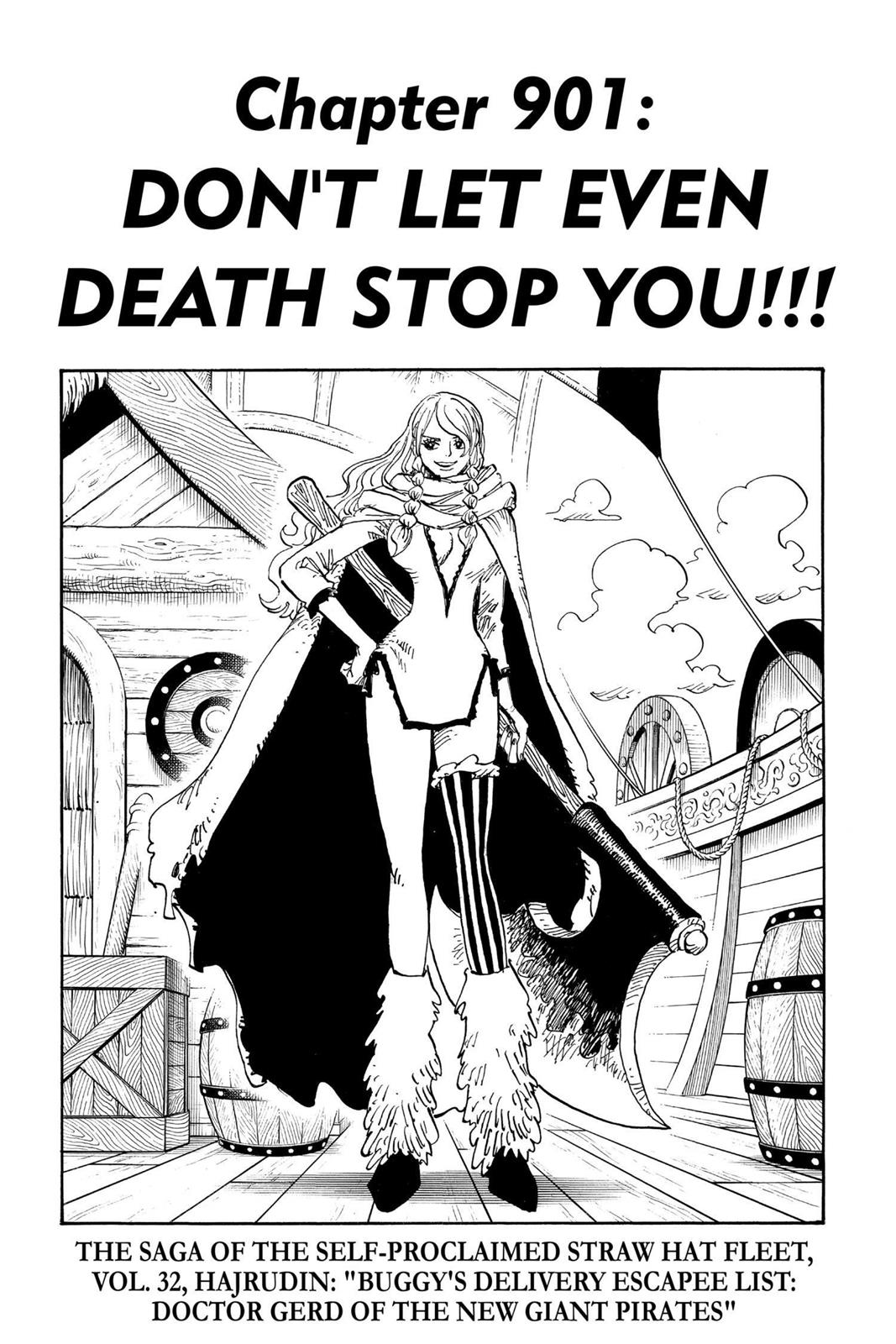 One Piece, Chapter 901 image 007