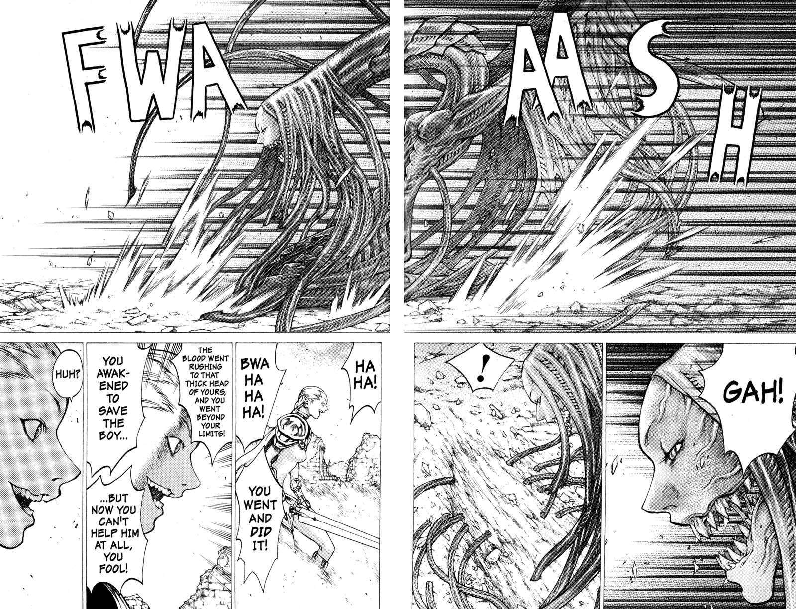 Claymore, Chapter 33 image 018