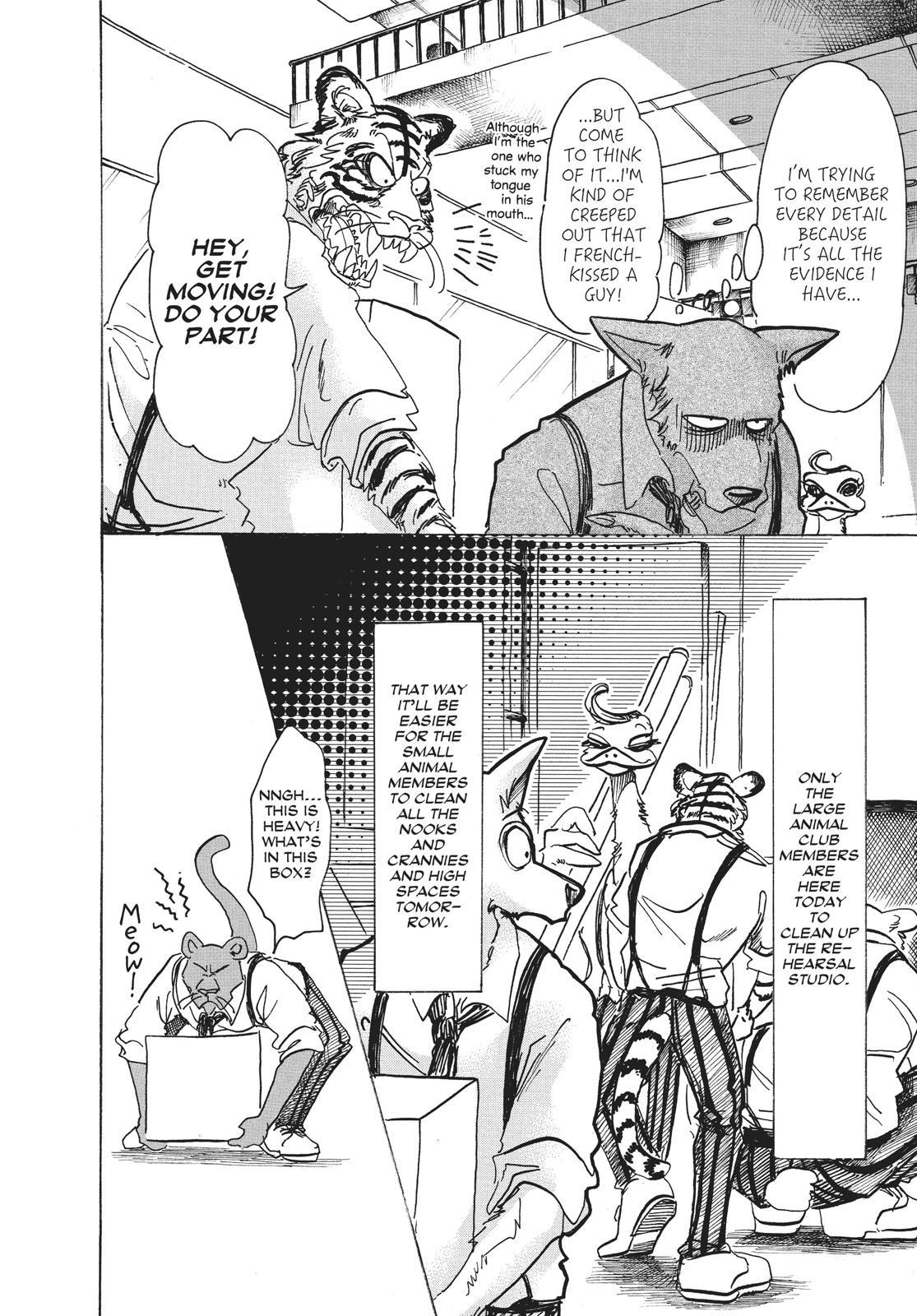 Beastars Manga, Chapter 67 image 010
