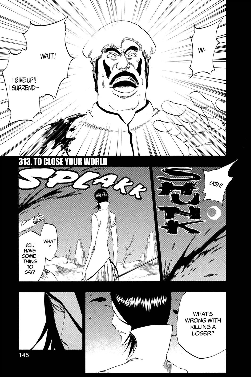 Bleach, Chapter 313 image 001