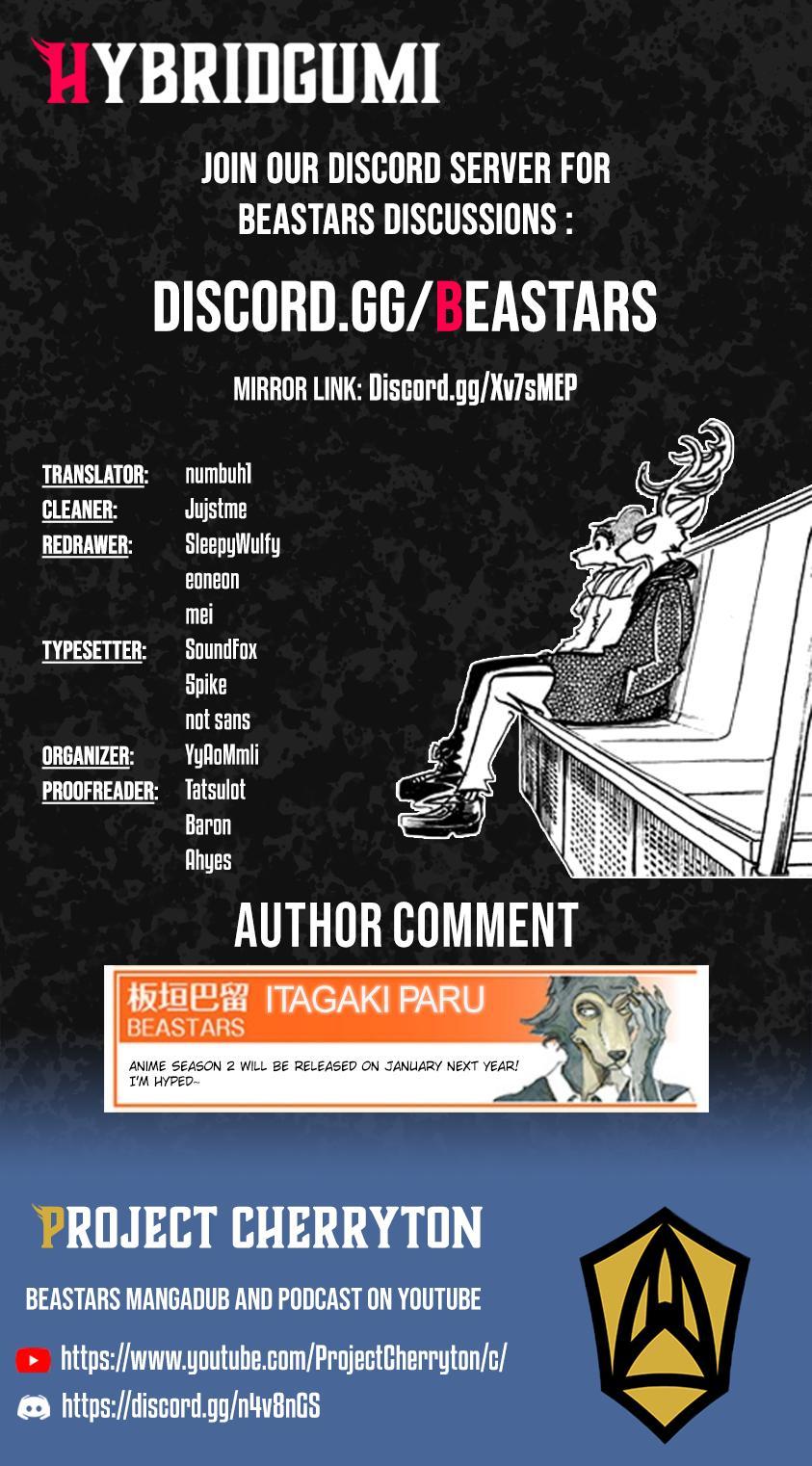 Beastars Manga, Chapter 194 image 020