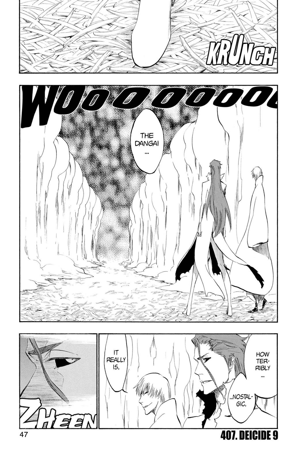 Bleach, Chapter 407 image 001