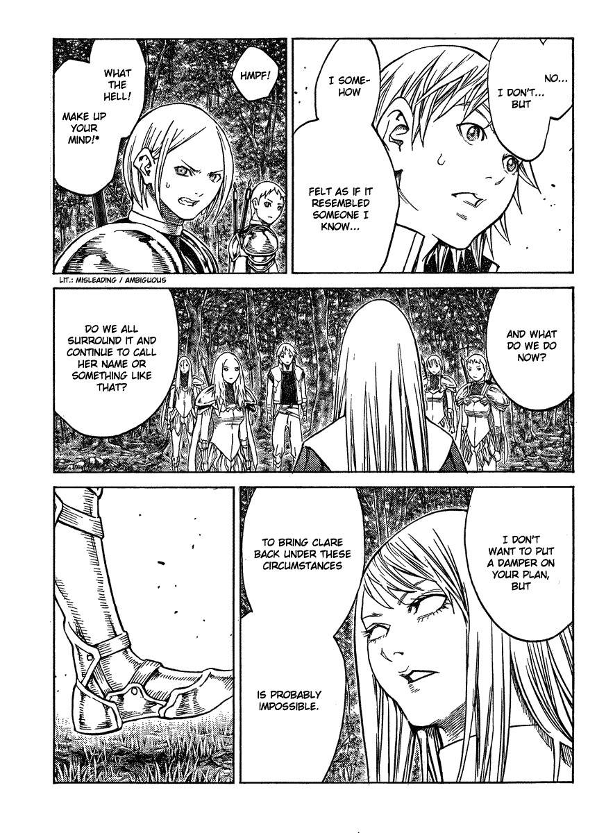 Claymore, Chapter 129 image 007