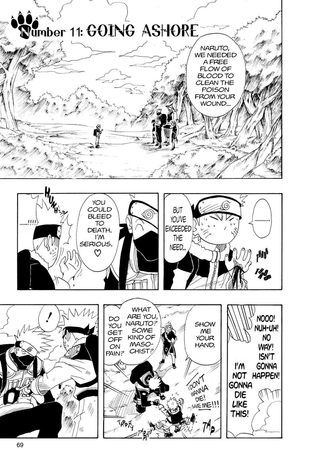 Naruto, Chapter 11 image 001