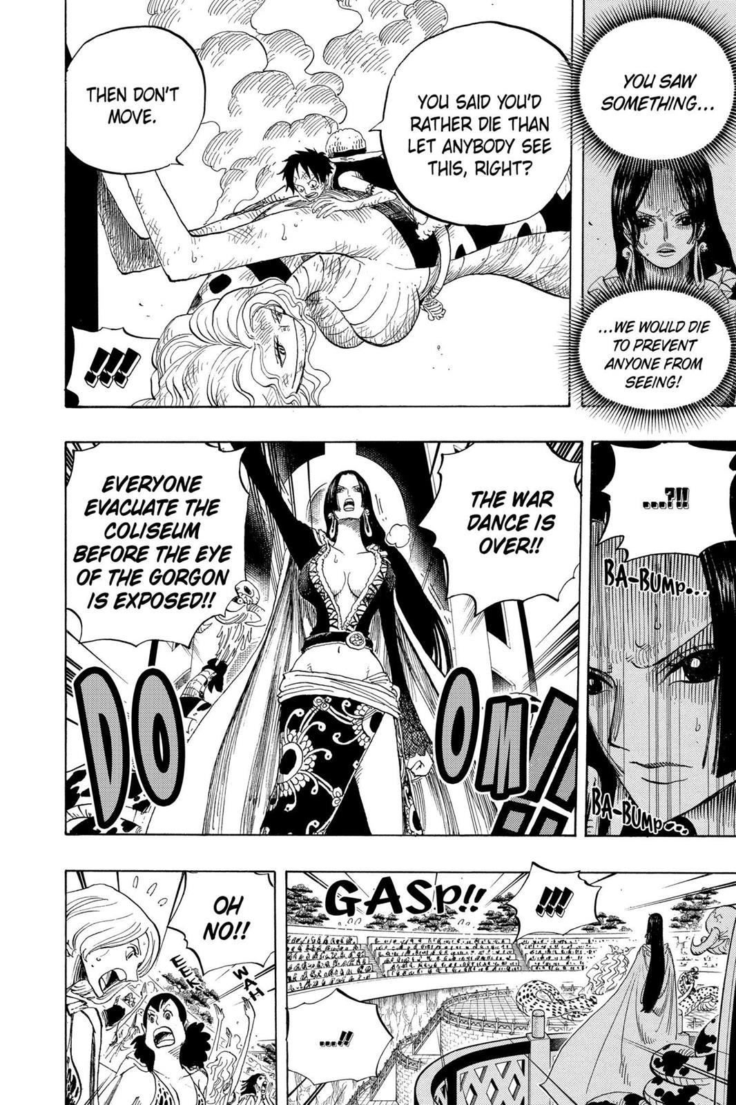 One Piece, Chapter 520 image 019