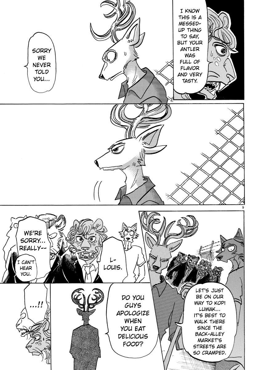 Beastars Manga, Chapter 144 image 008
