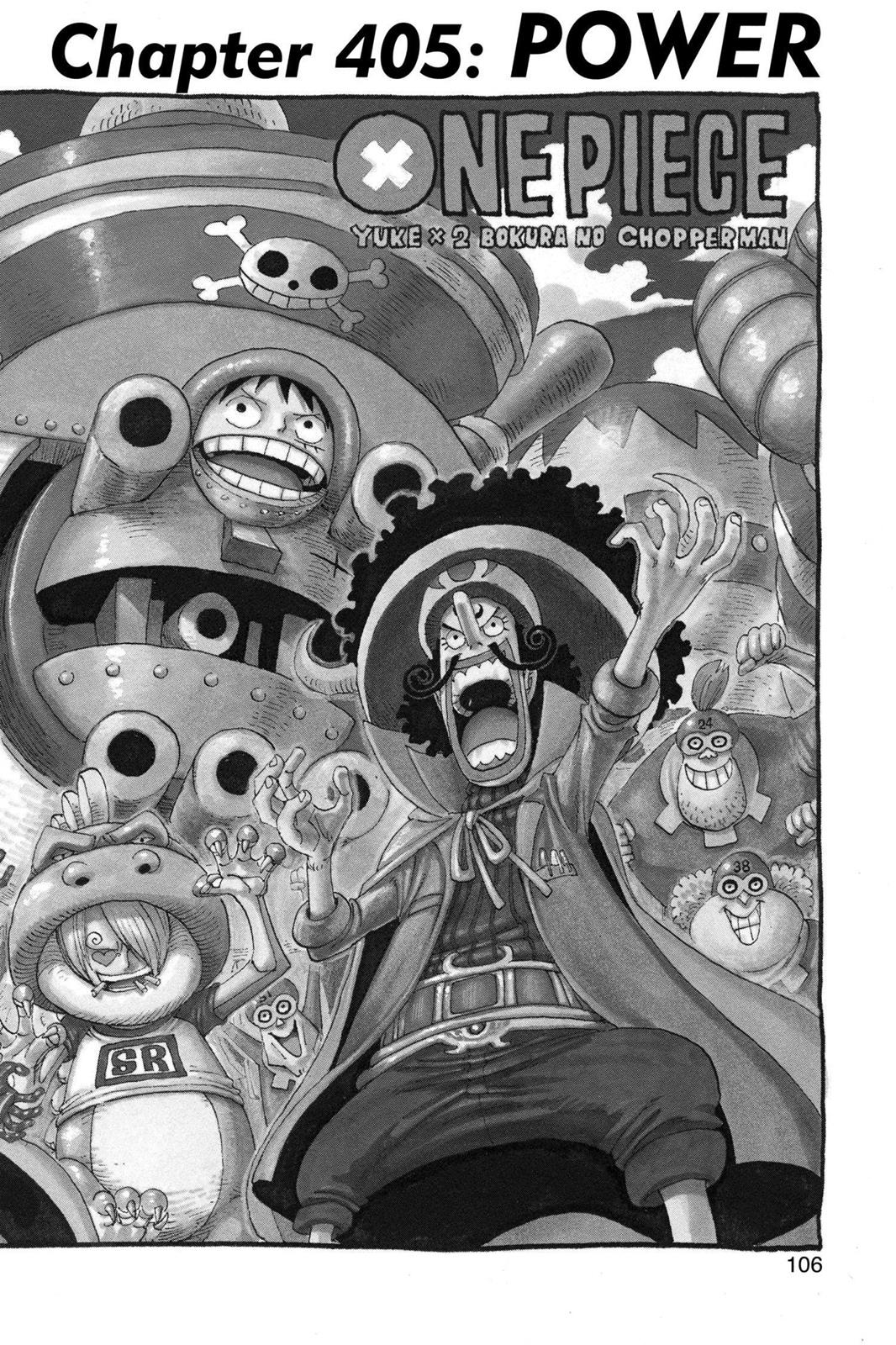 One Piece, Chapter 405 image 001