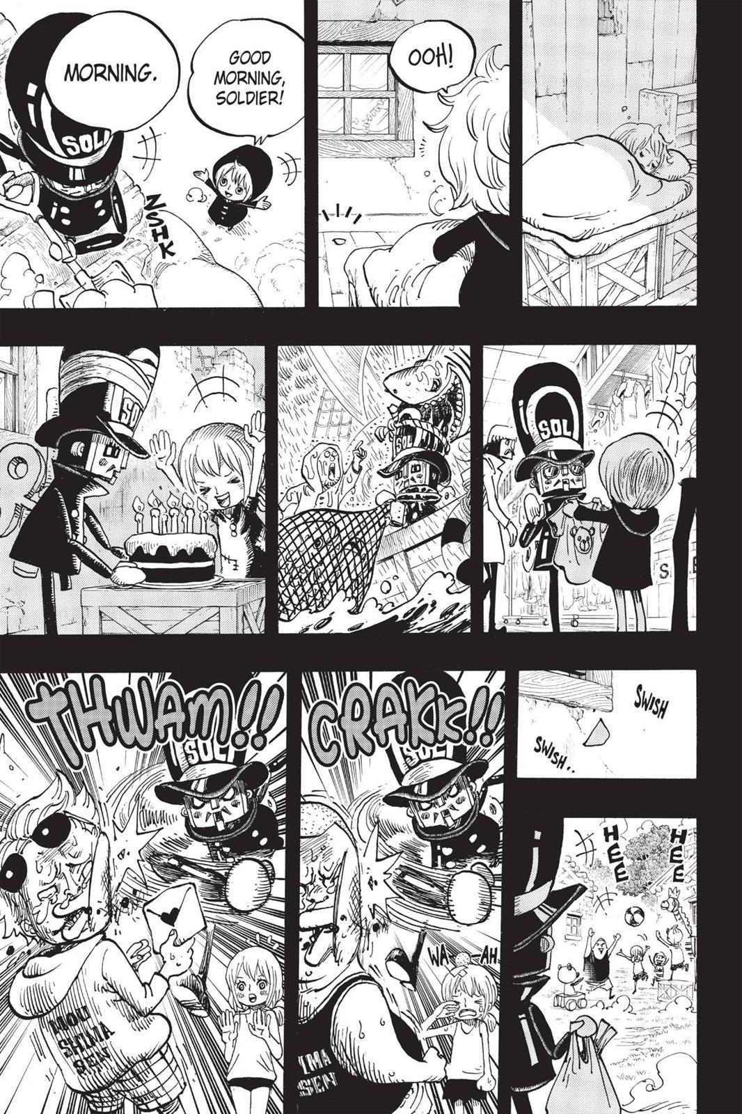 One Piece, Chapter 721 image 015