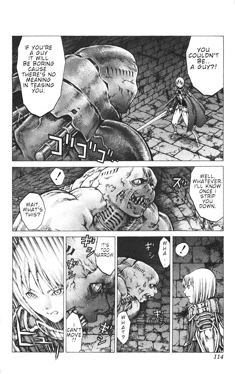 Claymore, Chapter 43 image 011
