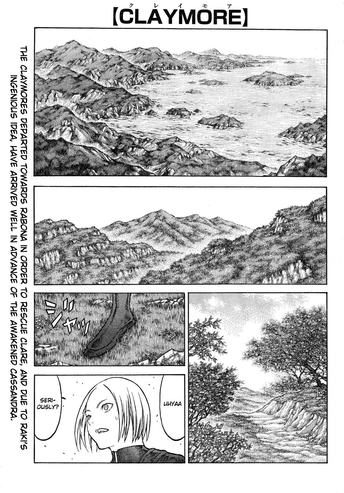 Claymore, Chapter 128 image 001