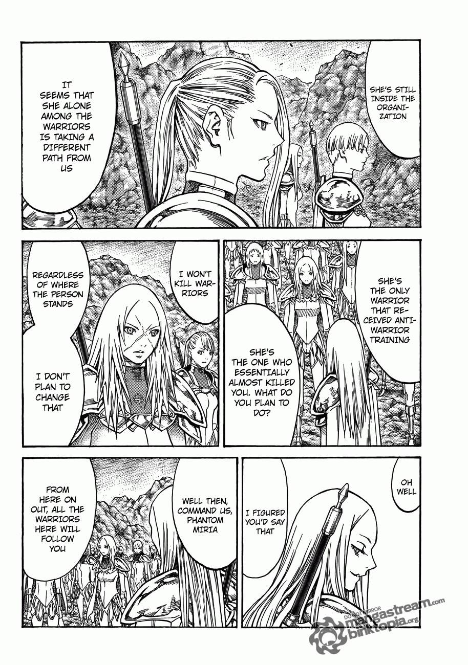 Claymore, Chapter 114 image 008