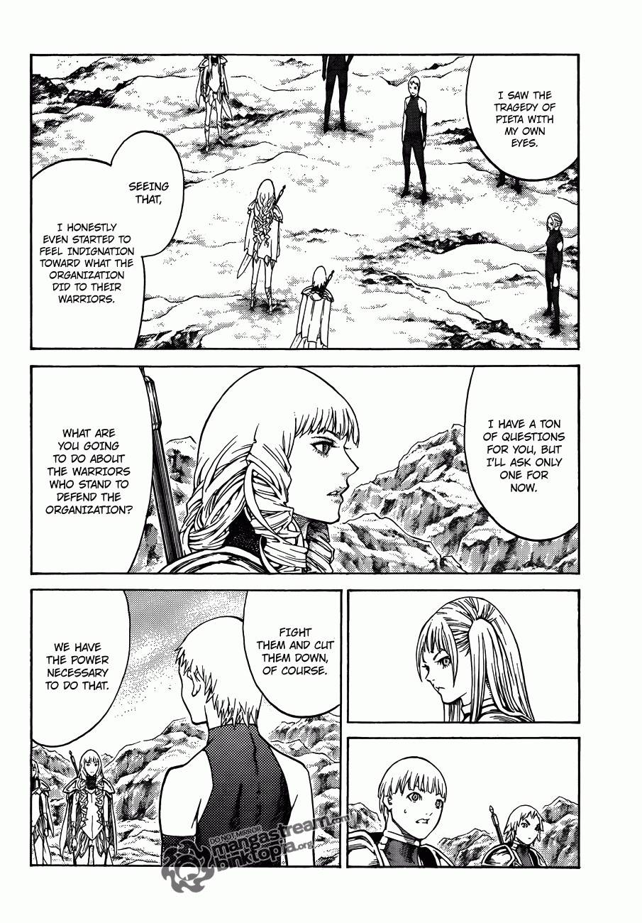 Claymore, Chapter 112 image 028