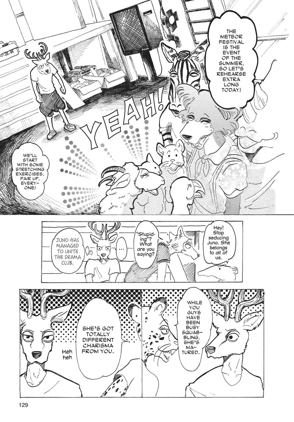 Beastars Manga, Chapter 31 image 011