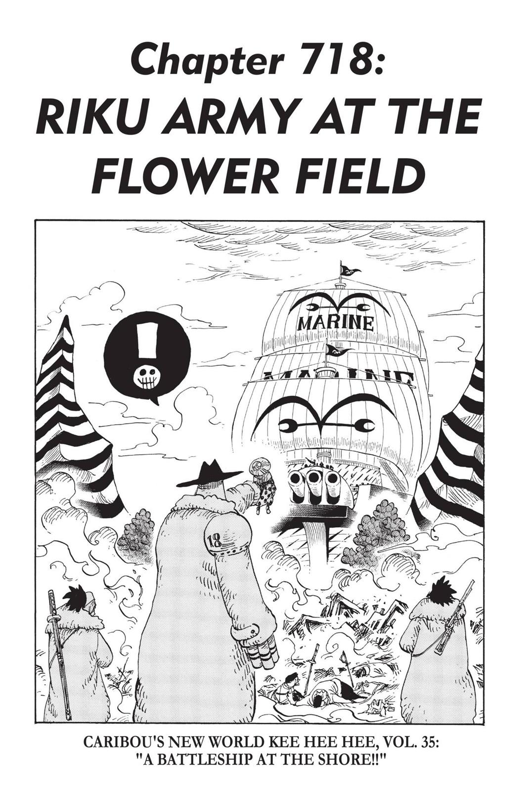 One Piece, Chapter 718 image 001