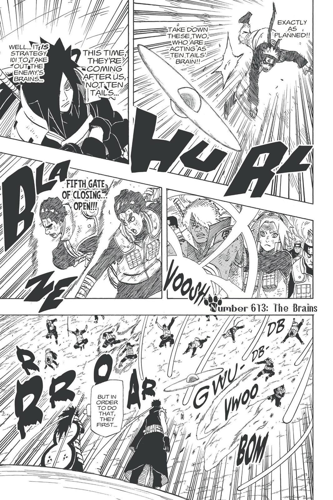 Naruto, Chapter 613 image 001