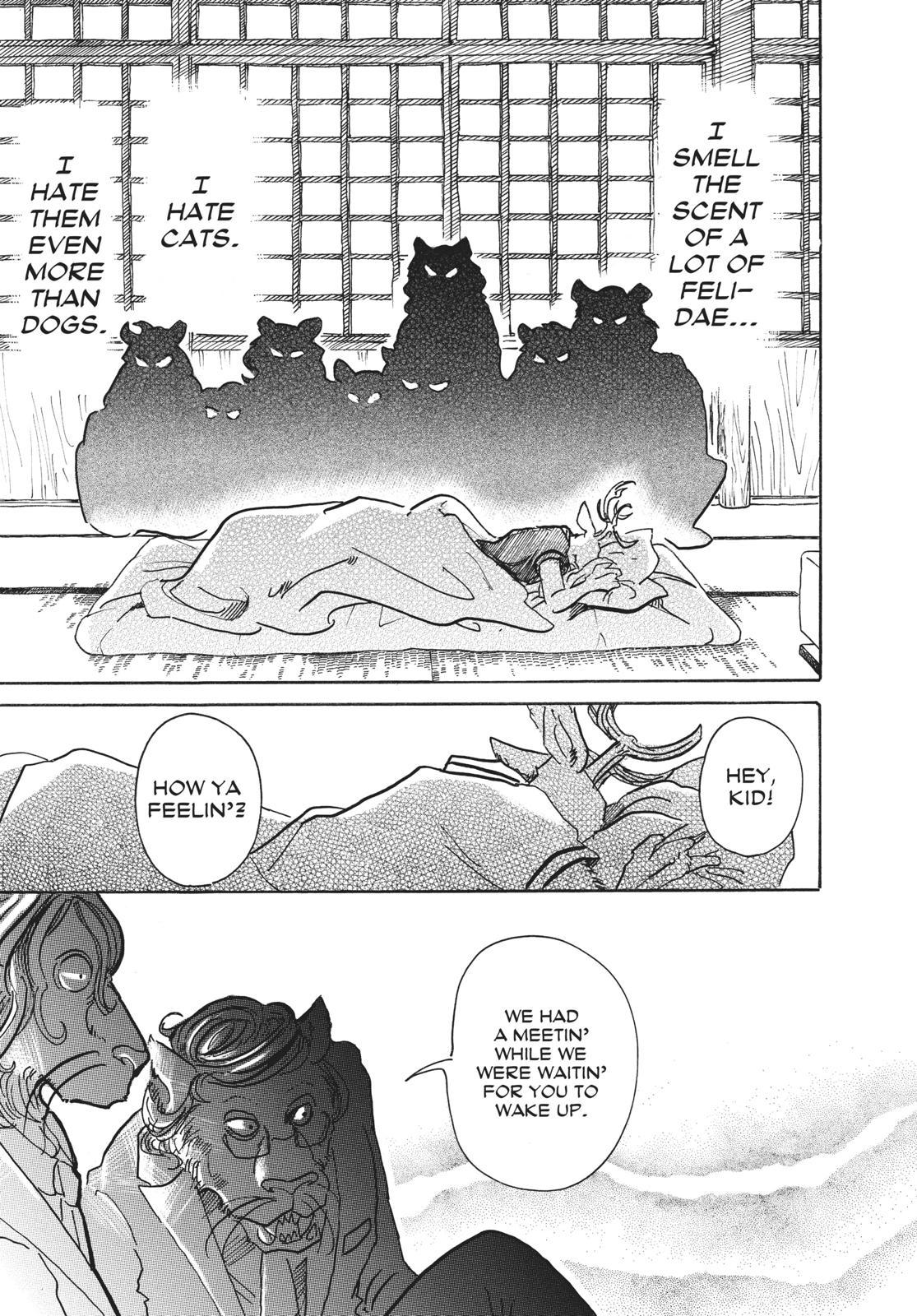 Beastars Manga, Chapter 51 image 011