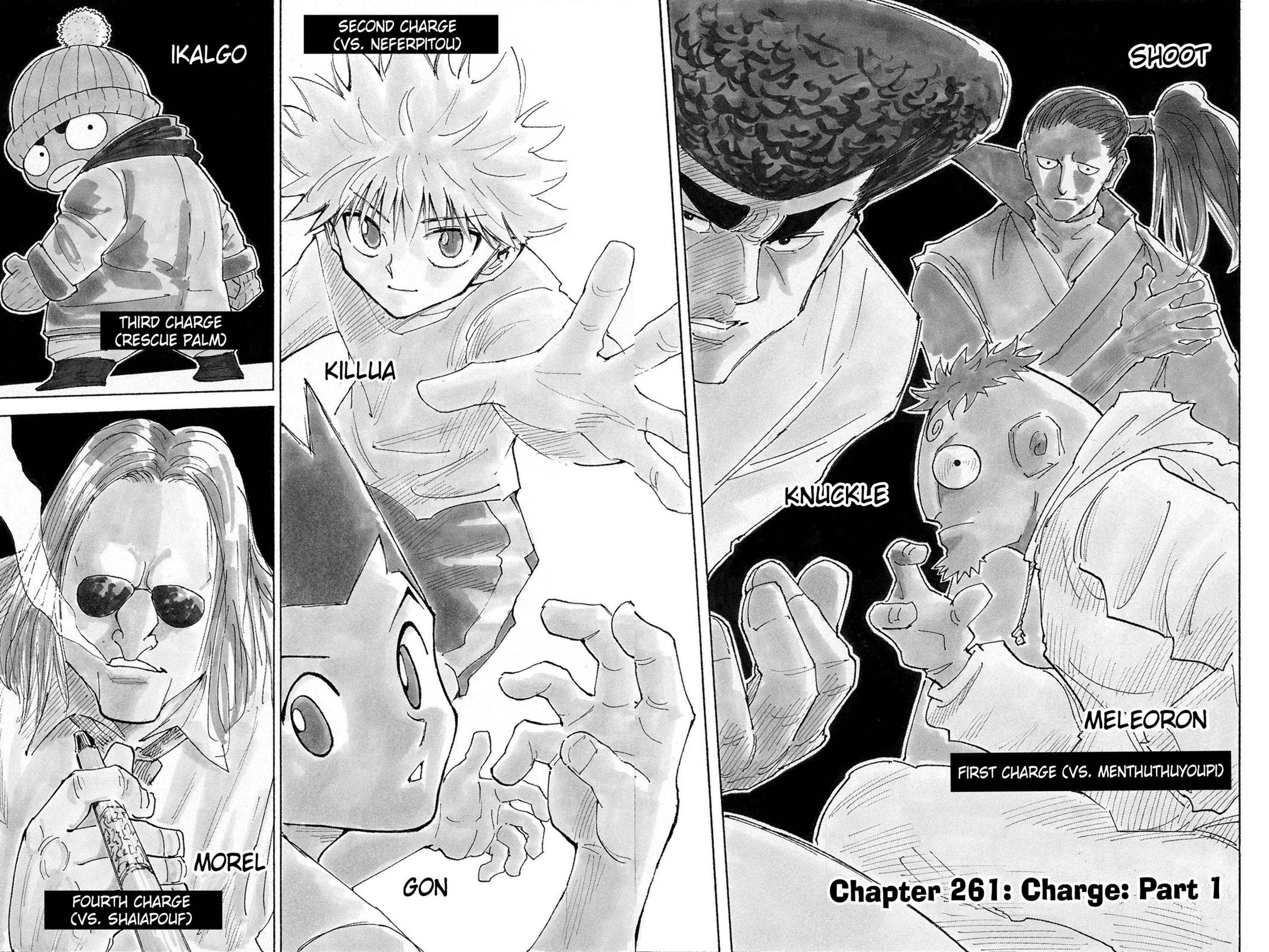 Hunter X Hunter, Chapter 261 image 008