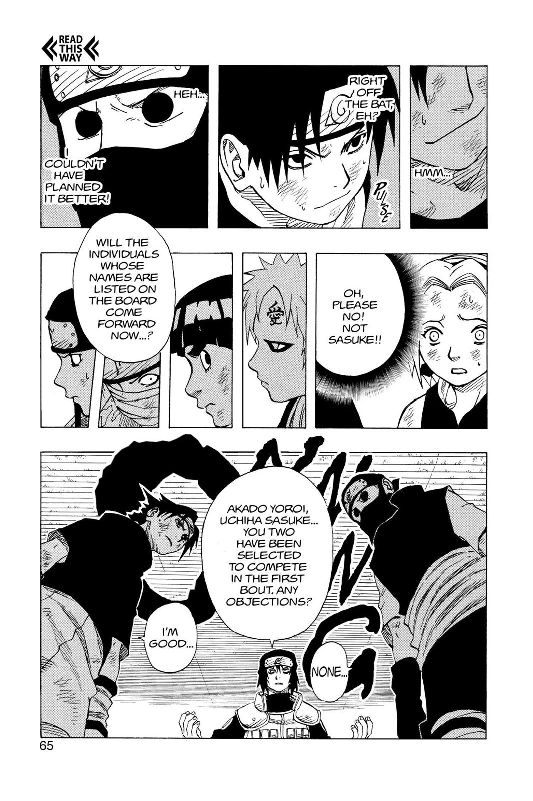 Naruto, Chapter 66 image 019