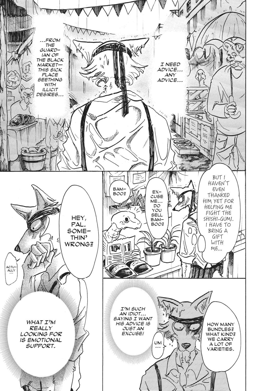Beastars Manga, Chapter 61 image 015